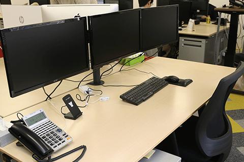 エーディーシースタッフ作業環境
