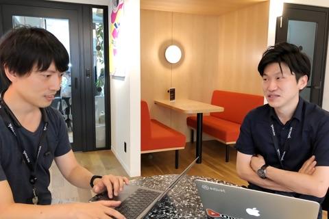 東京オフィス 共有スペース